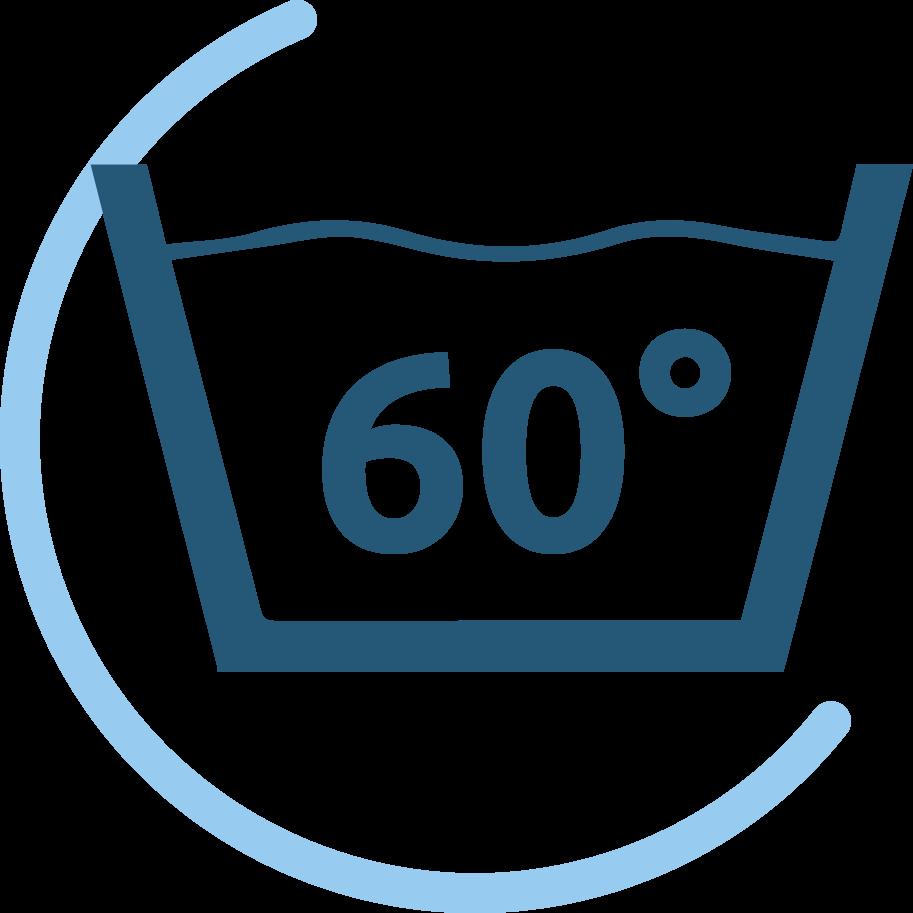 Spécificité:Lavage 60° Max
